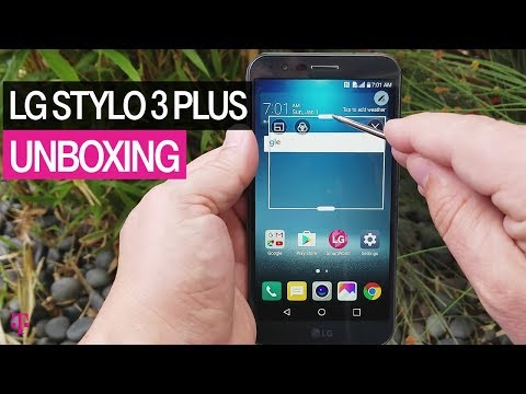 T-Mobile | LG Stylo 3 Plus Unboxing | Product Preview