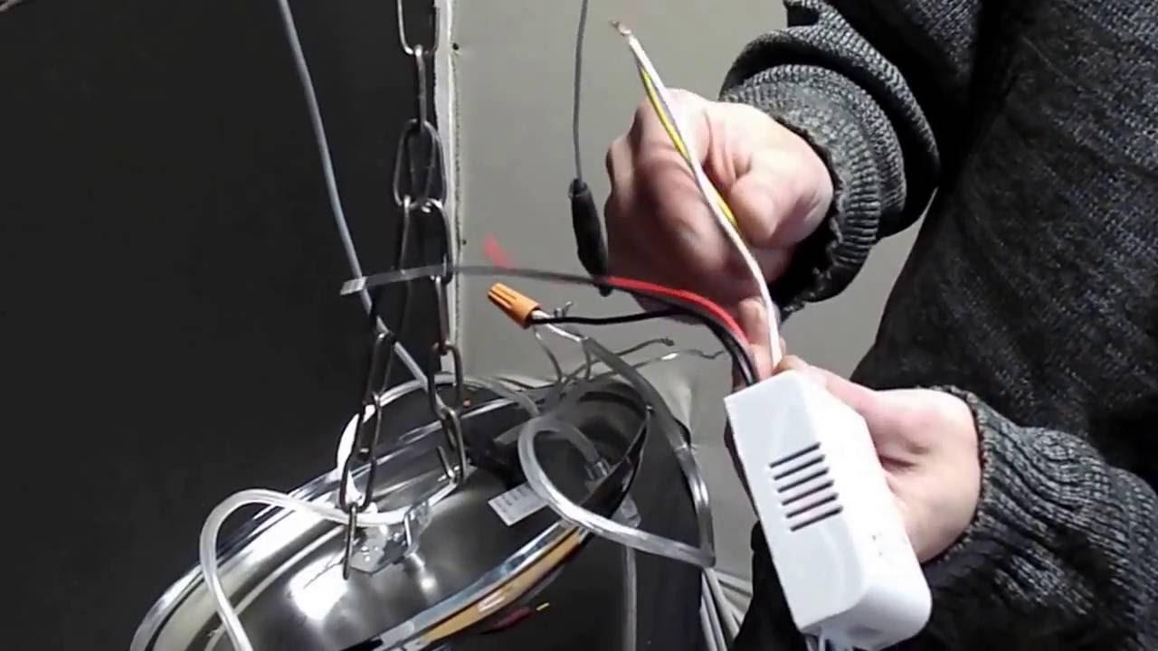 Как купить и подключить пульт дистанционного управления к люстре