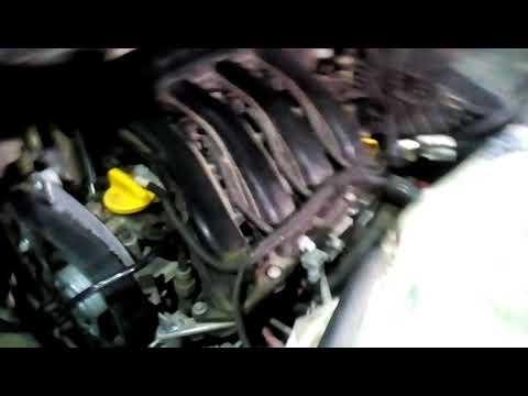 Замена ремня ГРМ Рено Меган 3(Renault Megane III 2012) 1.6 к4м 2012г