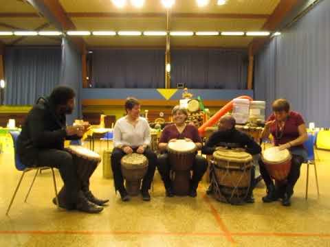 Percussions débutants TIP TAP TOP par Serge ROUSSAS