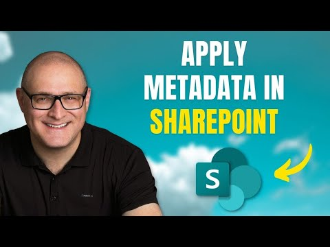 How to apply metadata to documents in SharePoint (3 options)