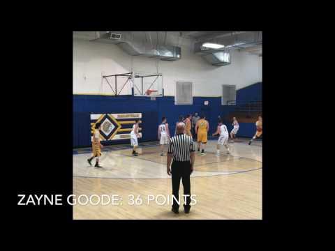 Zayne Goode 36 pts VS Haileyville