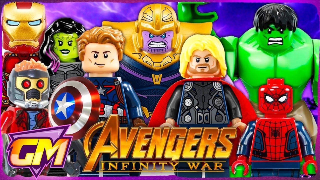 Download Avengers Infinity War - Fun Lego Parody!