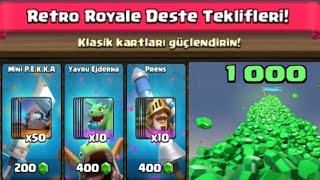 1000 YEŞİL TAŞ İLE RETRO DESTE TEKLİFLERİNİ SATIN ALDIM!