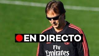 EN DIRECTO: Julen Lopetegui ante la prensa tras la derrota en el Bernabéu frente al Levante
