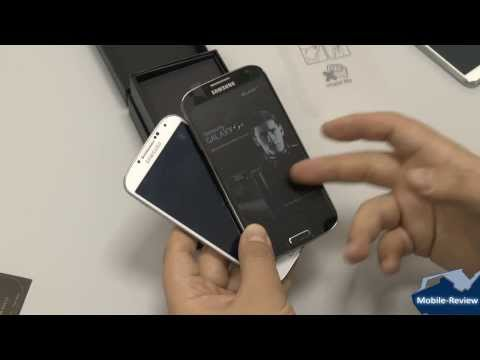 Внешний вид Samsung Galaxy S4 Black Edition