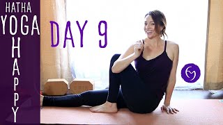 Day 9 Hatha Yoga Happiness: Turn a negative into a positive with Fightmaster Yoga
