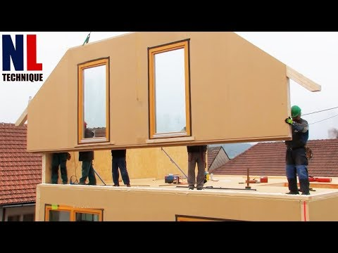 Fastest Ways To Build A House With Amazing Construction Worker At High Level Of Ingenious ▶ 2
