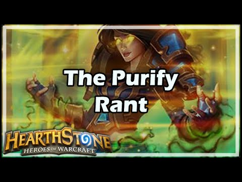 how to get purify in hearthstone