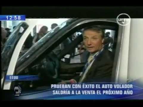 Presentan El Nuevo Modelo Del Auto Volador (05_04_2012)