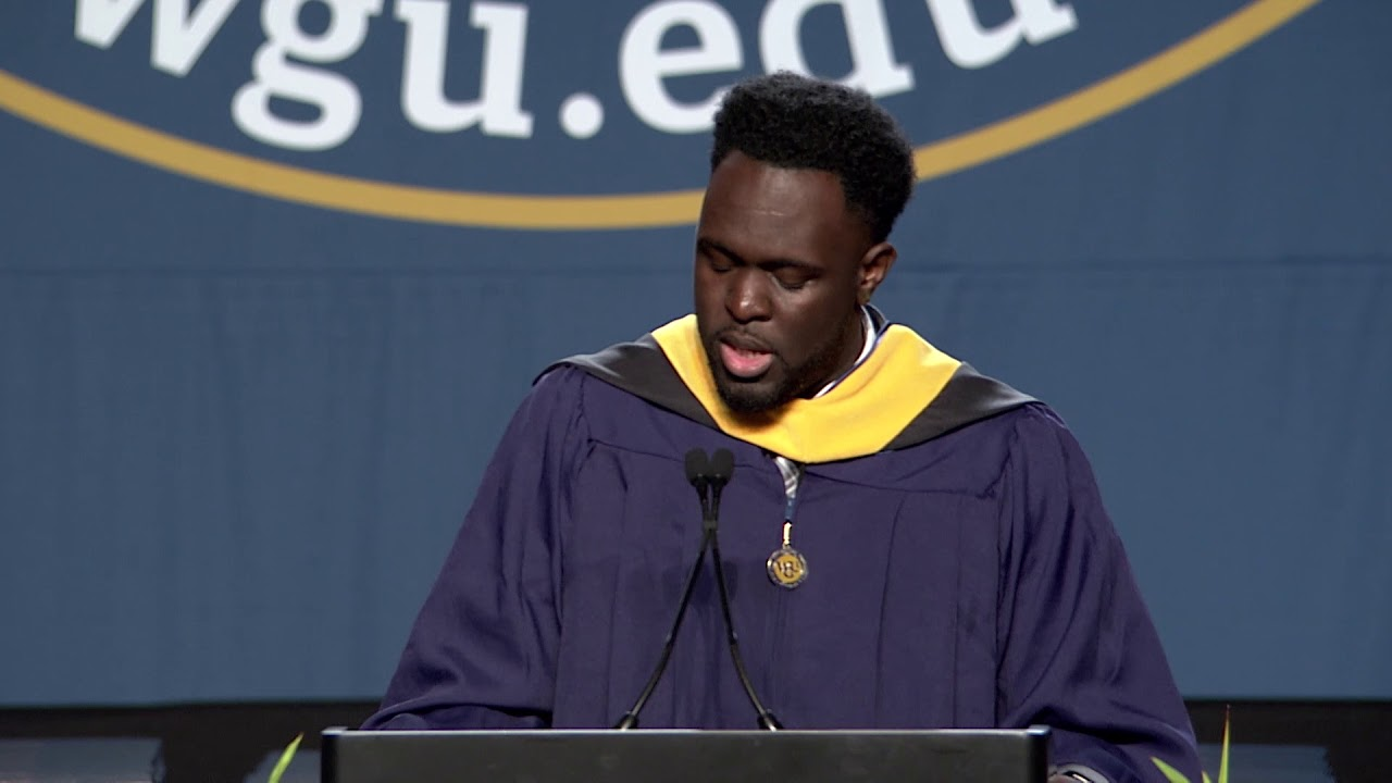 WGU 2018 Orlando Master's Commencement Speaker Rashaan Green