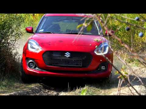 2018 Suzuki Swift - The new swift can handle it!