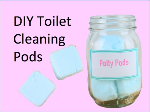 DIY Toilet Cleaning Pods
