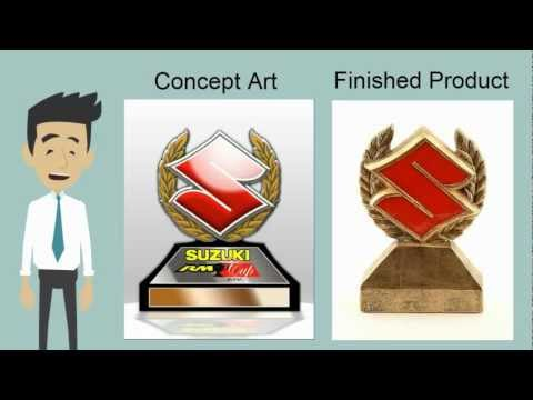 Far Out Awards: Custom Resin Trophies