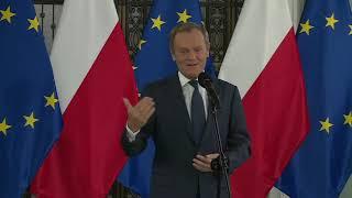 Donald Tusk ostro o wystąpieniu premiera w europarlamencie