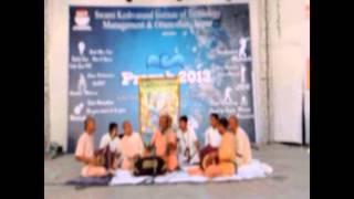 Hare Krishna Sankirtan In SKIT Jaipur By Hare Krishna Movement Jaipur.