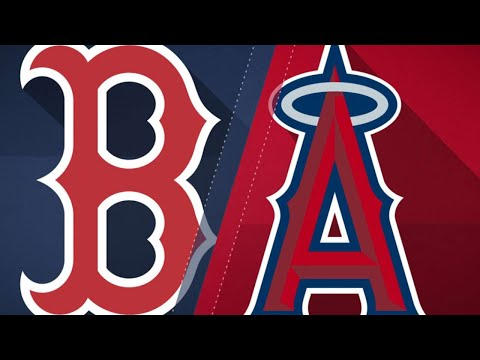 Betts' three HRs power Red Sox past Angels: 4/17/18