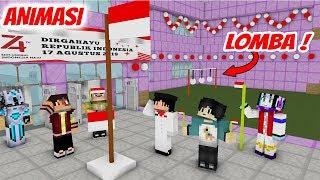 Seru! erpan 17 agustus an - Merdeka ( Animasi Minecraft Indonesia )
