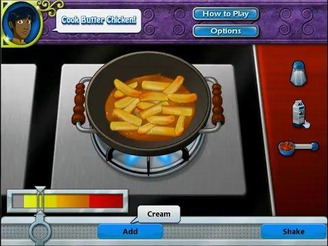 เกมส์ทำอาหาร แกงกระหรี่ไก่อินเดีย - butter chicken Cooking Game バターチキン,버터 치킨