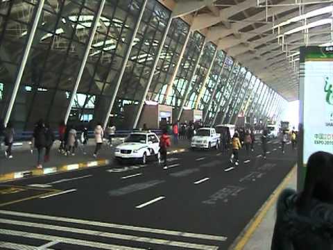 Airport Shanghai Girls Running