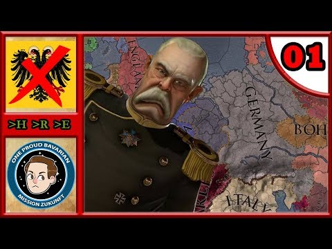 The End Of Germany #1 - CK2: Iron Century - Bismarck's Nightmare