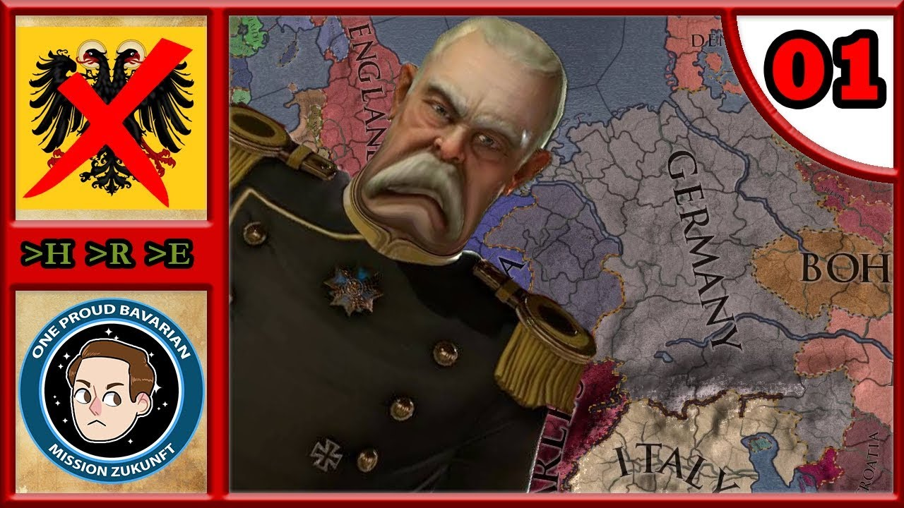 The End Of Germany #1 - CK2: Iron Century - Bismarck's Nightmare