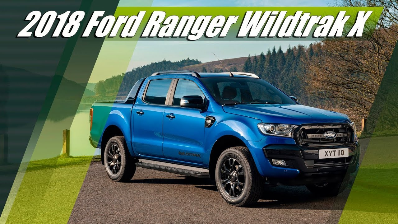 2018 Ford Ranger Wildtrak X Double Cab 3 2 Tdci 200 Hp