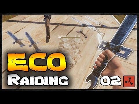 ECO RAIDING | Rust Raid Diary III #02