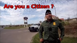 Eagle Pass,Tx.-DEA (Border Patrol stops by)