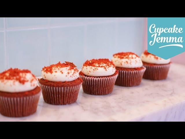 VEGAN RED VELVET CUPCAKES! | Cupcake Jemma