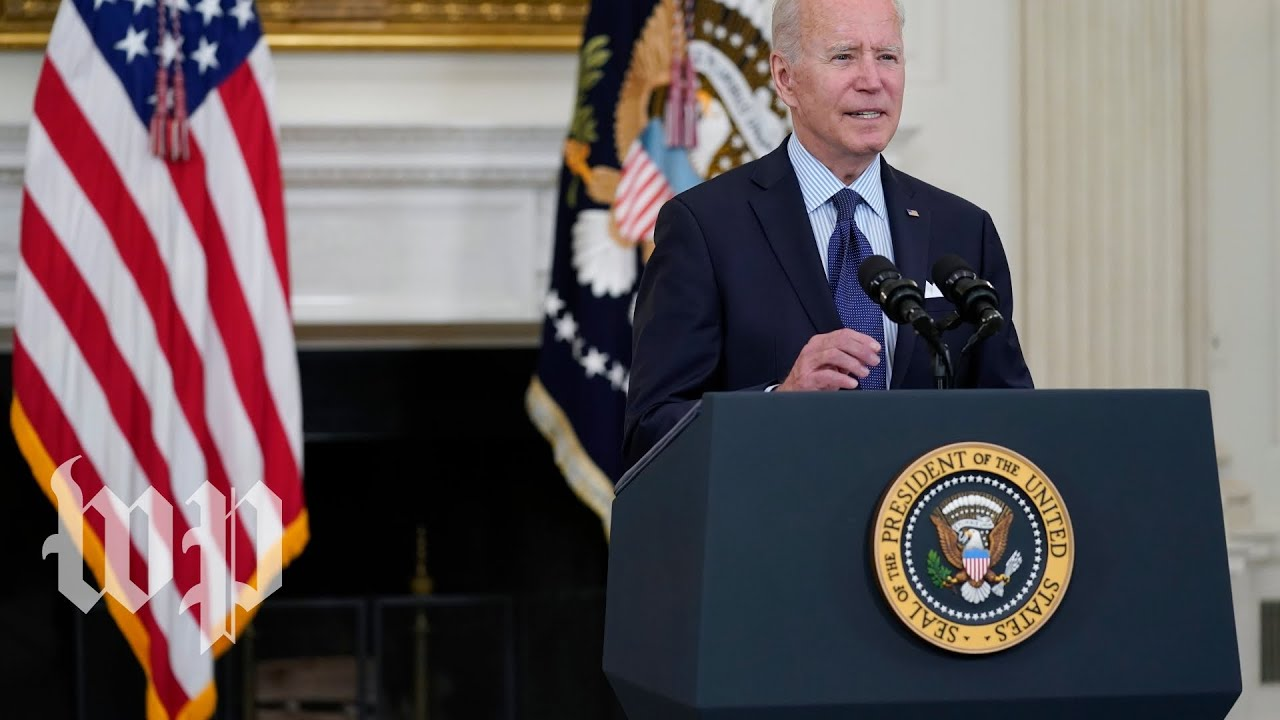 Biden sets goal of 70 percent of Americans with one vaccine dose by July 4