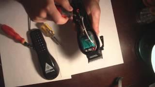 Шумит и вибрирует машинка для стрижки. Брак сборки, ремонт.