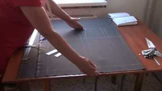 Курсы кройки и шитья: юбка карандаш с рельефными линиями по переднему полотнищу .