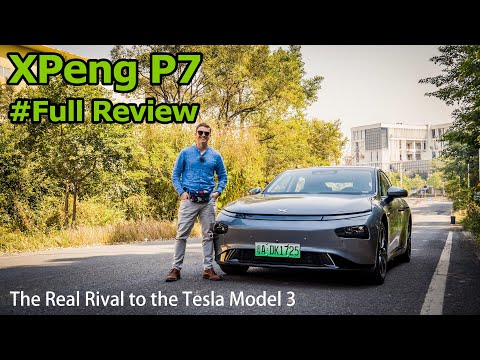 The XPeng P7 is the First Real Rival to the Tesla Model 3