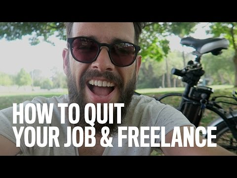 How To Quit Your Job & Freelance