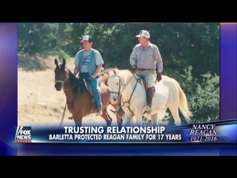 Fox & Friends: Retired Secret Service Agent Remembers Nancy Reagan