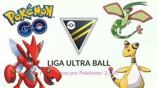 ¡EQUIPO muy BUENO para la LIGA ULTRA BALL en Pokémon GO! [Keibron]