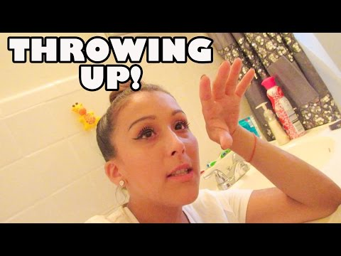 Throwing Up! (8.27.15 - Day 619) daily vlog