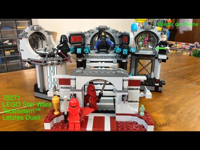 Lego 75291, Todesstern ™, Letztes Duell, Death Star ™ - Final Duel, Meister der Steine