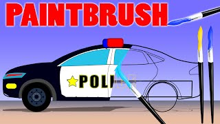 Police Car, Fire Truck And Ambulance | Coloring Book