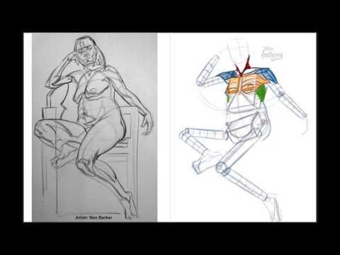Figure Studies - Michael Hampton Anatomy and Ovoid Mannequins