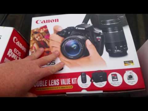 Canon Rebel T5 bundle/deluxe Walmart Score 11-13-16