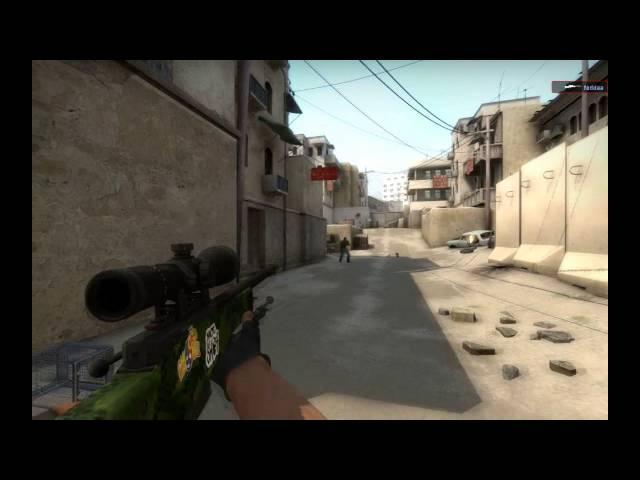 CSGO:Some Epic Shoots Dust2