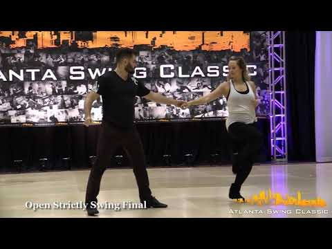Ben Morris & Cameo Cross - Atlanta Swing Classic 2017 Open Strictly Swing