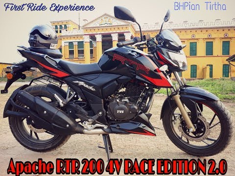 New TVS Apache RTR 200 4V RACE EDITION 2.0 | First Ride Experience |
