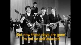 The Beatles   Help   With Lyrics