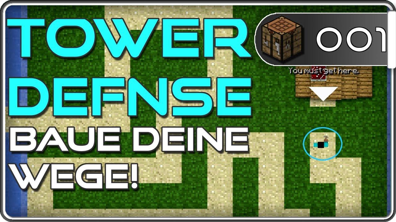 Minecraft Spiele Kostenlos Tower Defence Lets Test - Minecraft spiele youtube