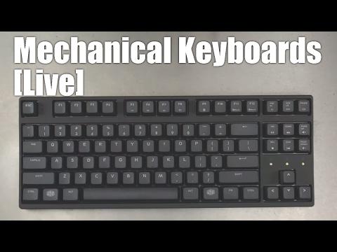 Mechanical Keyboards Live! - REVIEW CoolerMaster Masterkeys S w/ PBT keycaps