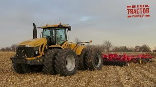 Challenger MT955B 4wd Tractor Tackling Fall Tillage