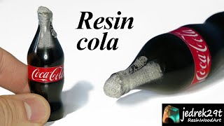 COLA from Resin. How to Make Cola from Resin / RESIN ART